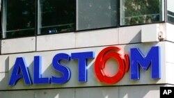 Kantor pusat Alstom di luar kota Paris, Perancis.