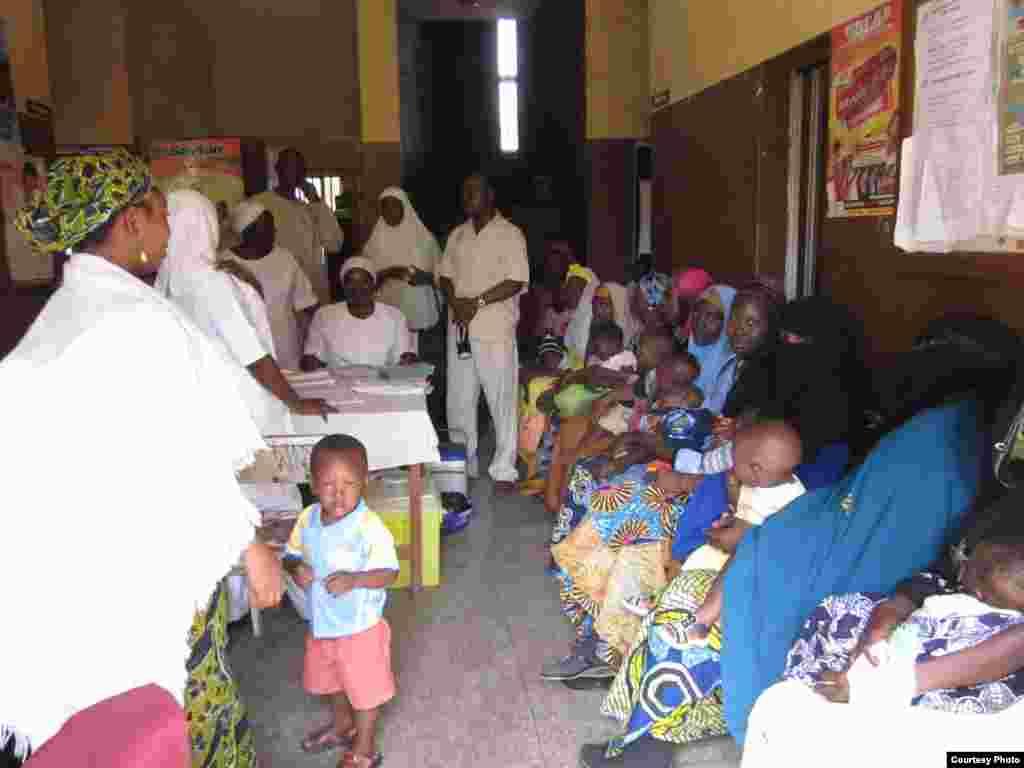 Клініка у містечку Кано, Нігерія . (Фото We Care Solar)