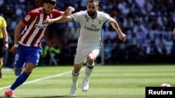 Le joueur du Real Madrid Dani Carvajal, à Madrid, le 8 avril 2017.