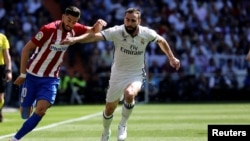 Le joueur du Real Madrid Dani Carvajal, à Madrid, le 8 avril 2017.