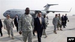 Ceremoni në Bagdad për fundin e misionit ushtarak amerikan në Irak