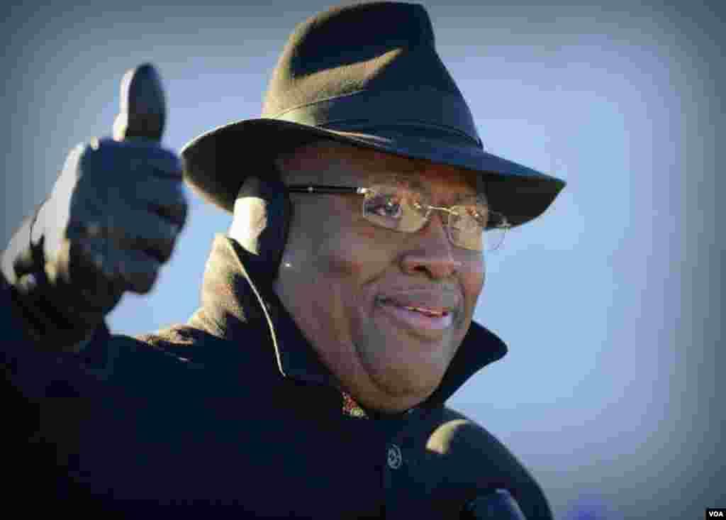 Президент фонда Национального мемориала Мартина Лютера Кинга Гарри Джонсон