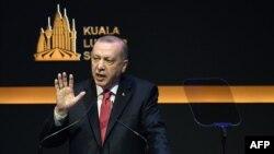 Cumhurbaşkanı Recep Tayyip Erdoğan Kuala Lumpur Zirvesi'nde konuştu.