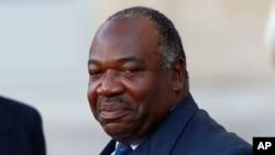 Le président réélu du Gabon Ali Bongo, 10 novembre 2015