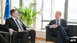 Lukšić i Jeremić u Briselu