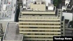 일본 도쿄 지요다구에 있는 조선총련 중앙본부 건물. (자료사진)