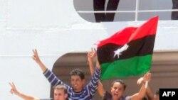 З Тріполі евакуйовано молодих хлопців