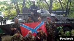 Srbijanski borci u Ukrajini. Izvor: Facebook