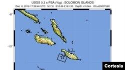 Alrededor de 570.000 personas viven en las Islas Salomón, ubicadas en la zona conocida como Cinturón de Fuego del Pacífico.