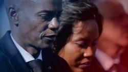 海地共和國總統佛內爾∙莫伊茲及夫人。