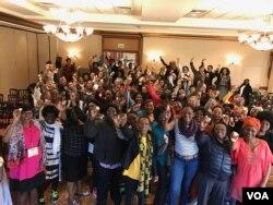 Amalunga enhlanganiso yeZimbabweans Adventist Women Abroad Council.