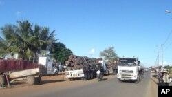 Estrada Nacional 6, em Moçambique