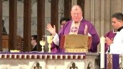 Miércoles de ceniza en la Catedral de San Patricio en NY