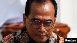Menteri Perhubungan Budi Karya Sumadi saat pelantikan menteri kabinet baru di Istana Merdeka, 23 Oktober 2019. (Foto: Reuters)