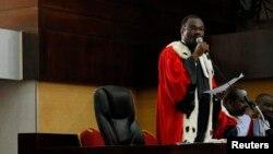 Le président de la cour d'assise d'Abidjan
