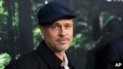 "Brad Pitt llega al estreno de ""The Lost City of Z"" en Hollywood, el miércoles, 5 de abril de 2017."
