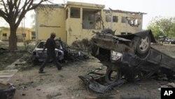 차량자살폭탄 공격 현장(자료사진)