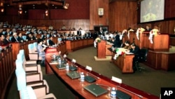 Cambodian National Assembly, file photo.
