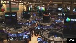 紐約華爾街股市交易所。