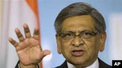 Indian Foreign Minister S.M. Krishna (file photo)