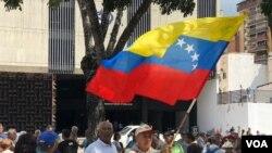 Un total de 4.414 protestas se registraron en Venezuela en el primer semestre de 2020, de acuerdo con un conteo del Observatorio Venezolano de Conflictividad Social (OVCS) divulgado este viernes. [Archivo VOA].