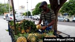 Venda de fruta, Maputo, Moçambique