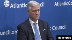 Cố vấn An ninh quốc gia Mỹ Robert O'Brien, phát biểu tại Hội đồng Đại Tây Dương- Atlantic Council.