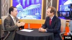Nicholas Kralev and David Ensor