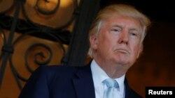 Le président élu des Etats-Unis, Donald Trump, 28 deécembre 2016.