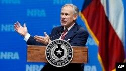 Thống đốc Texas Greg Abbott.