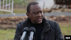 Le président kenyan Uhuru Kenyatta à Nairobi, Kenya, 30 avril 2016. (EPA / Dai Kurokawa)