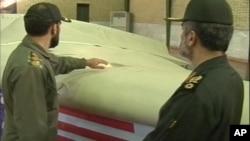 Иран не го дава американското беспилотно летало
