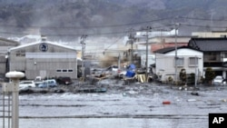 地震和海嘯重創日本東北部