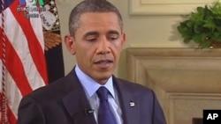 ประธานาธิบดีโอบาม่าให้สัมภาษณ์พิเศษกับ VOA เรื่องแผนการถอนทหารอเมริกันออกจากอัฟกานิสถาน