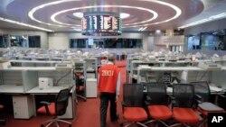 香港交易所。