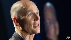 Rick Scott, gobernador del estado de la Florida.