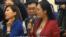 """中国第一财经记者梁相宜朝""""美国记者""""张慧君翻白眼引起的网络狂欢和相应的社会涟漪"""