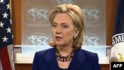 Ngoại trưởng Clinton nói rằng mục đích là làm thế nào để 2 bên đồng ý thảo luận trực tiếp hầu giải quyết những vấn đề khó khăn