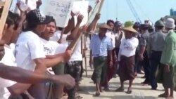 Chinese Development Projects in Burma Draw Local Protests