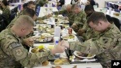 Američki vojnici u Kabulu slave Dan zahvalnosti
