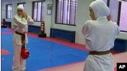 Olympic hopeful, 17-year-old Zeinab Hammoud
