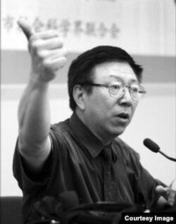在北京的学者周孝正(网络图片)