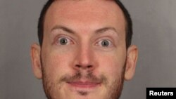 James Holmes is seen in this undated police handout photo