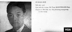 Điêu khắc gia Lê Ngọc Huệ, Huy chương Bạc Triển Lãm Quốc Tế Mỹ Thuật 1962 [Nghệ Thuật Việt Nam Hiện Đại, Nguyễn Văn Phương, Nha Mỹ Thuật Bộ Quốc Gia Giáo Dục VNCH 1962] (6)