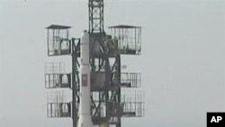 2009년 4월 '광명성 2호' 발사 장면(자료사진)