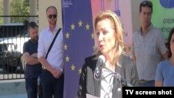 Natalija Apostolova, specijalna predstavnica EU na Kosovu, 20. septembar 2017.