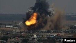 Izraelski vazdužni napadi na Pojas Gaze