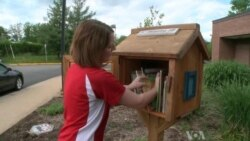 Liitle Free Libraries Share Love of Books