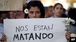 La inseguridad fue la principal causa de protestas en Venezuela en 2014.