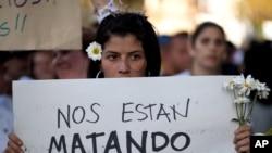 En la ciudad de Caracas se producen un promedio de casi 15 asesinatos por día.